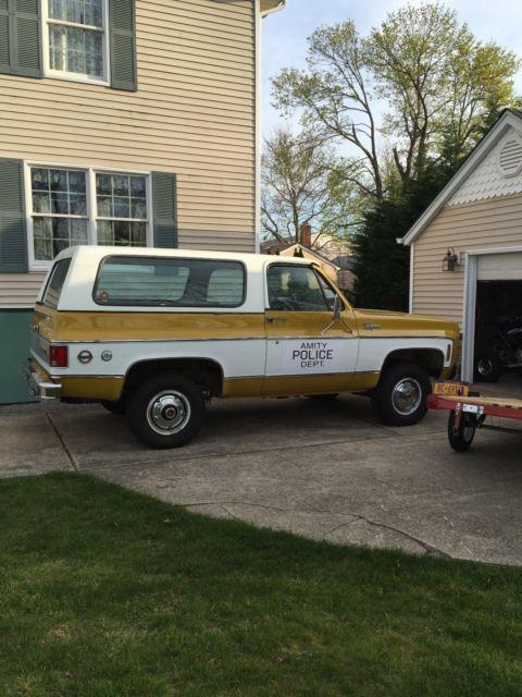 Chevy Awd Cars >> 1974 CHEVY BLAZER MINT JAWS TRUCK LOOK - Classic Chevrolet Blazer 1974 for sale