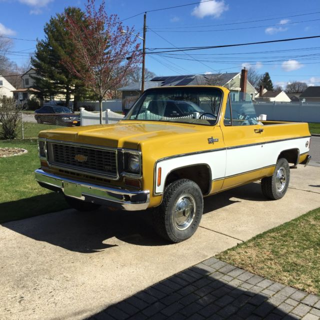1974 chevy blazer mint jaws truck look classic chevrolet blazer 1974 for sale. Black Bedroom Furniture Sets. Home Design Ideas