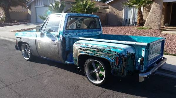 1974 Chevy C10 Short Bed Step Side Hot Rod, Rat Rod ...