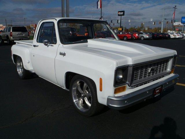 "1974 Chevy C10 Step Side ""Square Body"" Lowered, Hot Rod ..."