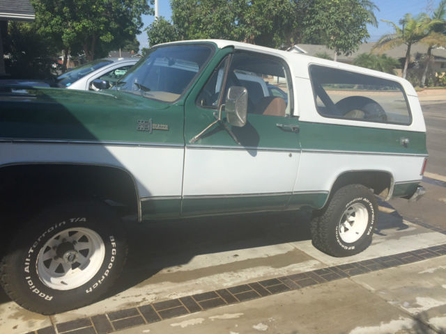 1974 Chevy K5 Blazer 4x4 Automatic Convertible Chevrolet