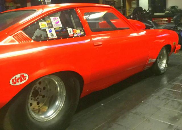 1974 CHEVY VEGA HOT ORANGE DRAG RACE CAR - Classic ...