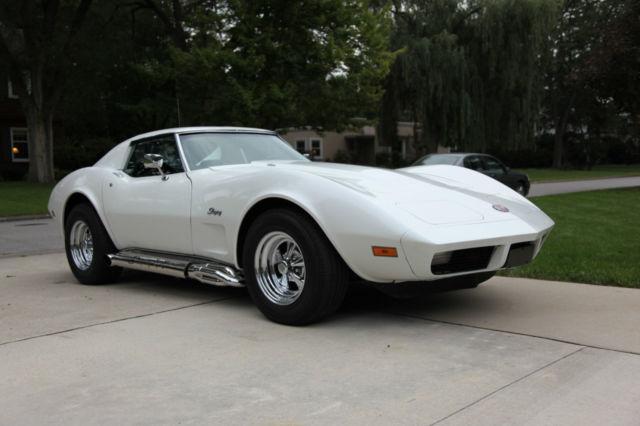 1974 Corvette Stingray - White - 454cu - Classic Chevrolet ...