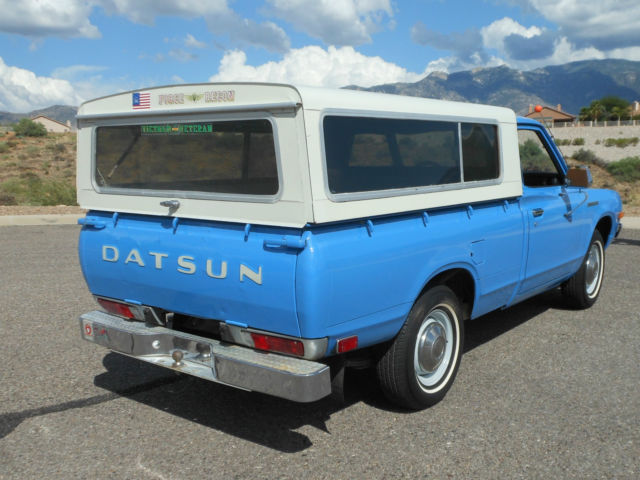 1974 datsun 620 pickup two owners arizona rust free immaculate and original classic datsun
