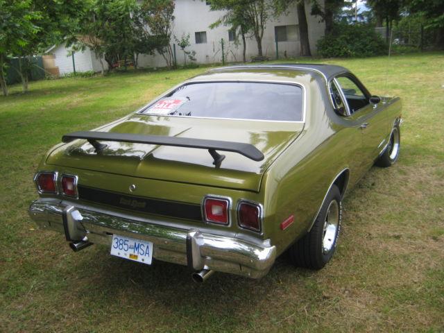 1974 Dodge Dart Sport 360 Sunroof 4spd Mopar Plymouth