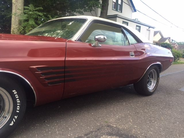 1974 Dodge Rallye Challenger Big Block 383 Red With White Interior White Top Classic Dodge