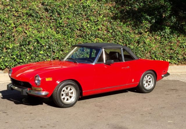 1974 fiat 124 spider classic fiat other 1974 for sale. Black Bedroom Furniture Sets. Home Design Ideas