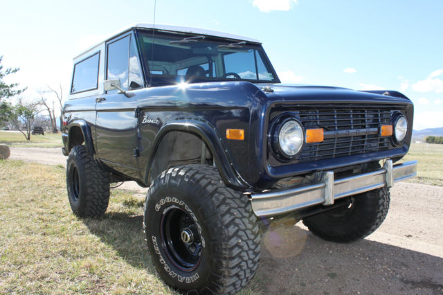 1974 ford bronco custom early bronco 4x4 classic ford bronco 1974 for sale. Black Bedroom Furniture Sets. Home Design Ideas