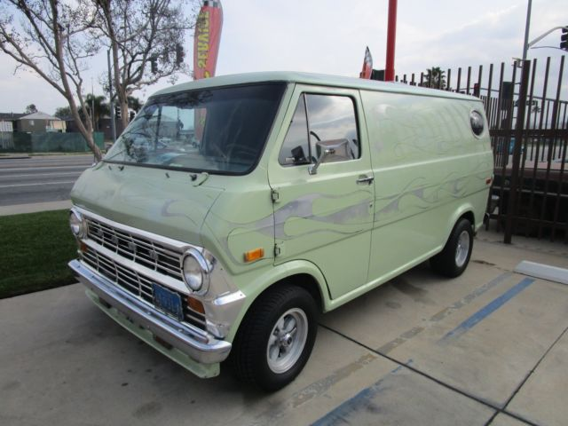 1974 ford econoline custom van classic ford e series van 1974 for sale. Black Bedroom Furniture Sets. Home Design Ideas
