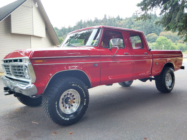 1976 Ford F250 Highboy For Sale >> 1974 Ford F-250 4x4 Crew Cab Highboy Excellent Condition Fully Restored - Classic Ford F-250 ...
