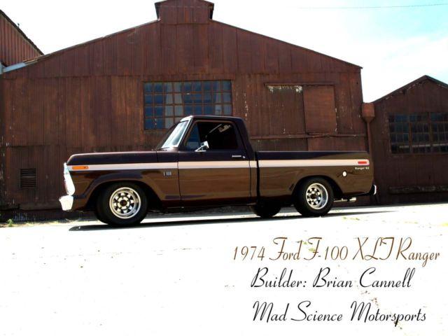 1974 ford f100 ranger custom pickup classic ford f 100