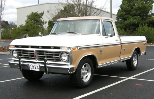 1974 Ford Ranger XLT F100 for sale - Ford F-100 XLT 1974 ...  |1974 Ford F100