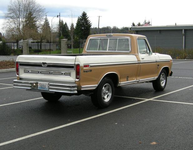 1974 ford f100 ranger xlt pickup truck classic ford f 100 1974 for sale. Black Bedroom Furniture Sets. Home Design Ideas