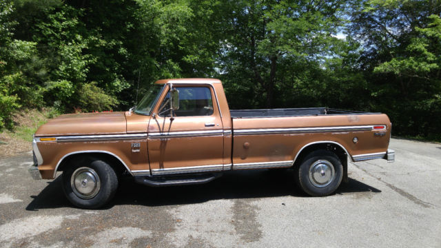1974 ford f250 camper special classic ford f 250 1974. Black Bedroom Furniture Sets. Home Design Ideas
