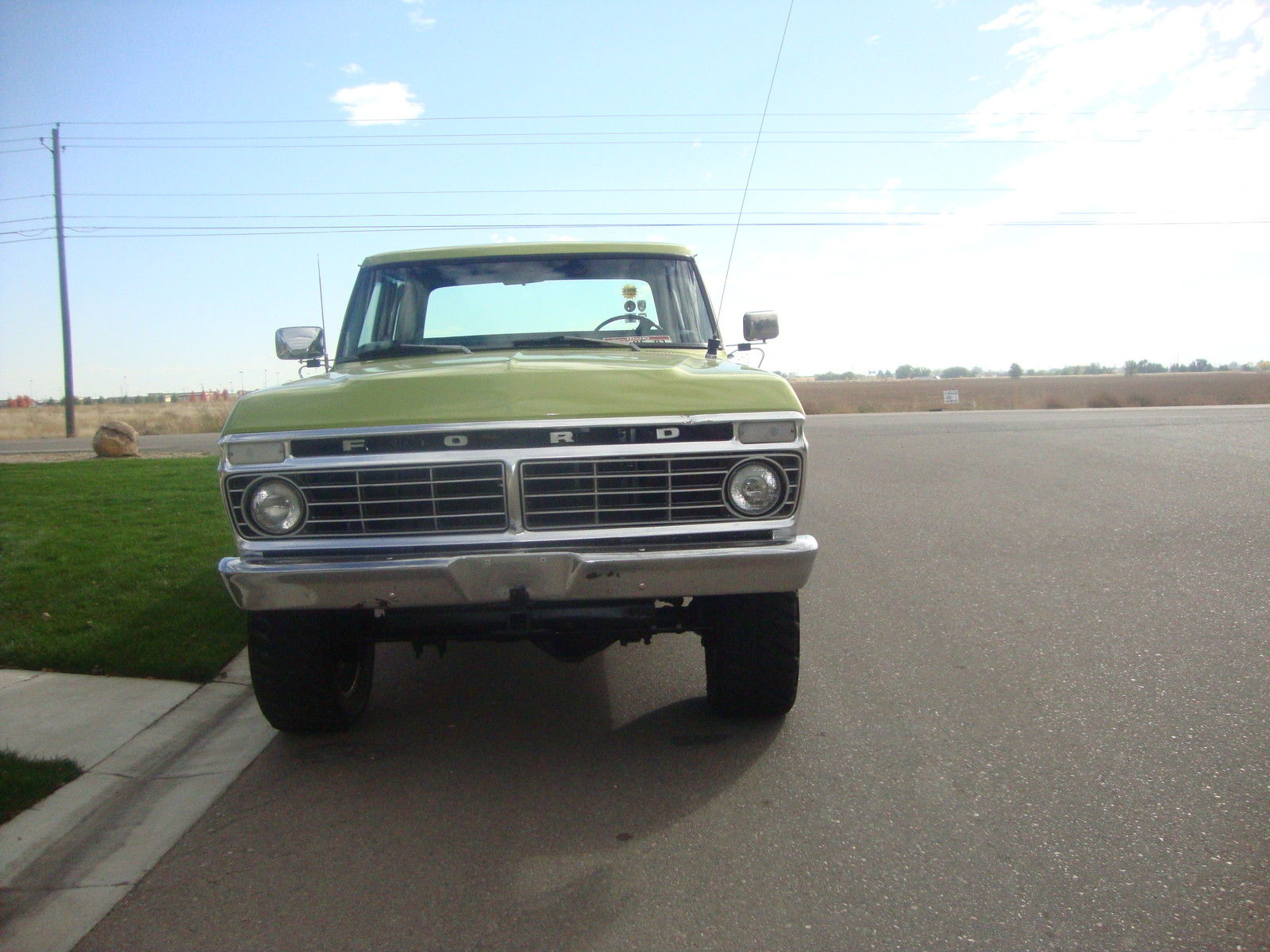 1974 ford f250 crew cab 4 door 4x4 in excellent shape see. Black Bedroom Furniture Sets. Home Design Ideas