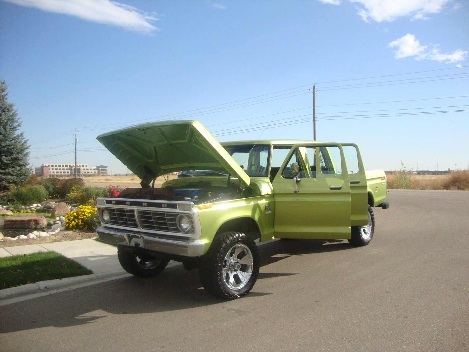 1974 ford f250 crew cab 4 door 4x4 in excellent shape see for your self classic ford f 250. Black Bedroom Furniture Sets. Home Design Ideas