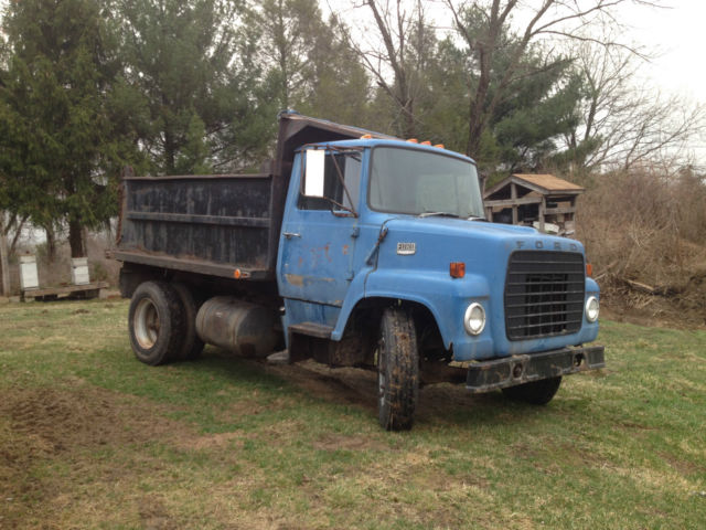 1974 ford ln600 dump truck strong engine and nice working dump cheap classic ford ln600. Black Bedroom Furniture Sets. Home Design Ideas