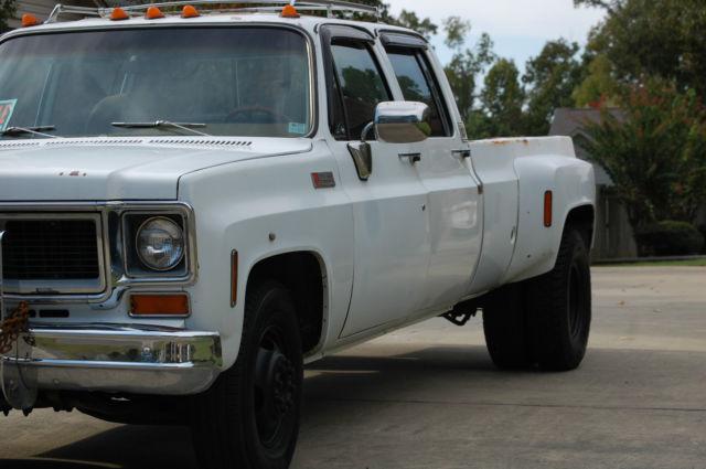 1974 GMC 3500 Square Body Dually Chevy Silverado truck - Classic GMC