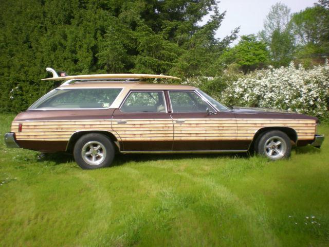 1974 Impala Surf Station Wagon Demo Derby Woody Survivor ...