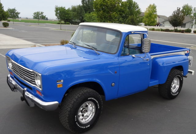 1974 International Harvester 4x4 Pickup 100 Half Ton