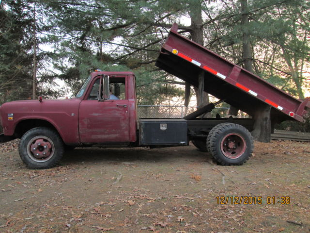 1974 International Harvester 500 Dump Truck Classic