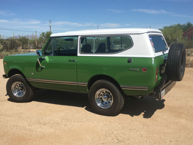 1974 International Scout Ii Classic International