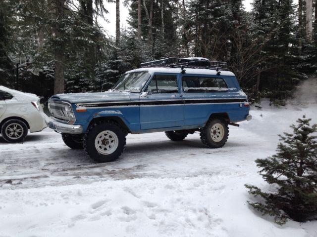 1974 Jeep Cherokee Fsj Classic Jeep Cherokee 1974 For Sale