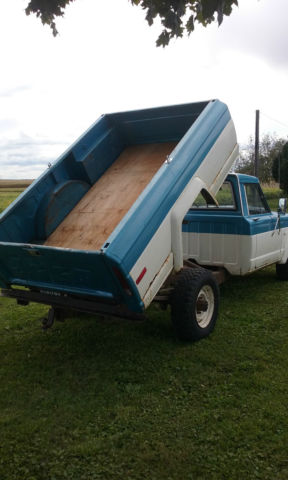 1974 Jeep J20 Pickup Truck With Dump Bed 360 V8 Antique