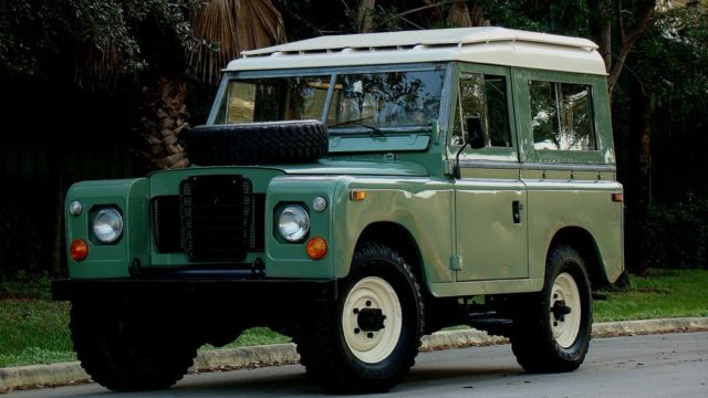 Land Rover For Sale Near Me >> 1974 LAND ROVER SERIES III DEFENDER STYLE SPORT UTILITY VEHICLE LEFT HAND DRIVE - Classic Land ...