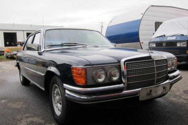 Used Armored Cars For Sale Ebay >> 1974 Mercedes 350 SE Werkspanzer Bulletproof Armored Sonderklasse - Classic Mercedes-Benz S ...