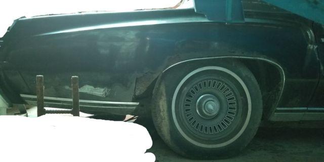 1974 Monte Carlo  U00e2 U20ac U201c Restoration Project  U00e2 U20ac U201c Complete Car