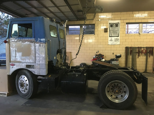 1974 Peterbilt 282 daycab single axle cabover NTC 350 Cummins - Classic Other Makes 282 1974 for ...