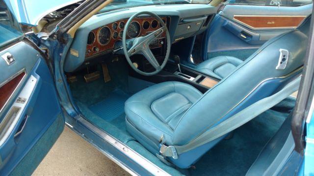 Used Tires Des Moines >> 1974 pontiac grand prix SJ 455 Very Original Survivor ...