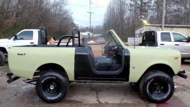 1974 Scout Ii 345 V8 Auto Trans Corbuea Seats Roll Bar