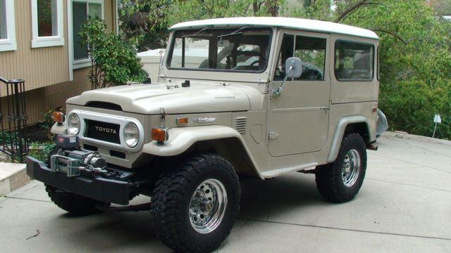 1974 Toyota Land Cruiser Fj40 Very Original California