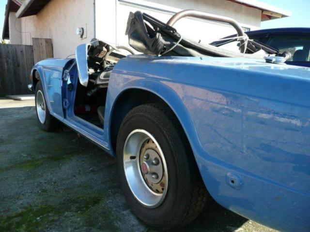 1974 Triumph TR6 Overdrive Matching Numbers Rust Free