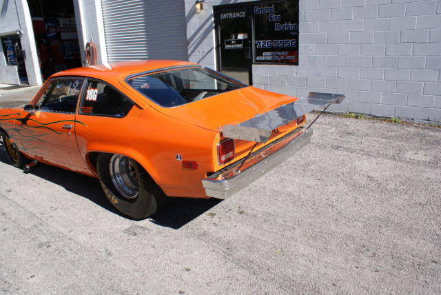 1974 Vega Chassis Drag Race Car Big Tire - Classic Chevrolet