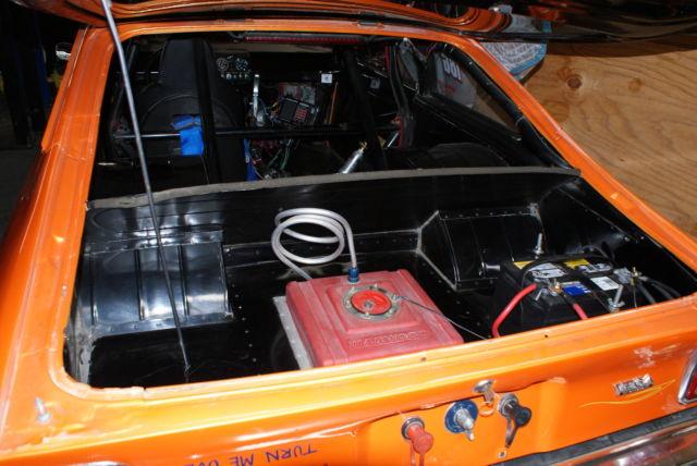 1974 vega chassis drag race car big tire