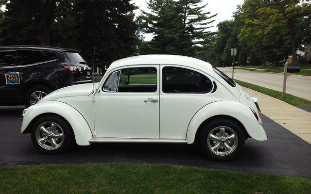1974 Volkswagen Beetle White Classic Volkswagen Beetle
