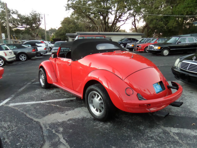1974 volkswagen super beetle speedster convertible custom classic volkswagen beetle. Black Bedroom Furniture Sets. Home Design Ideas