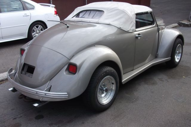 vw beetle bug    ford body kit   convertible top custom car classic