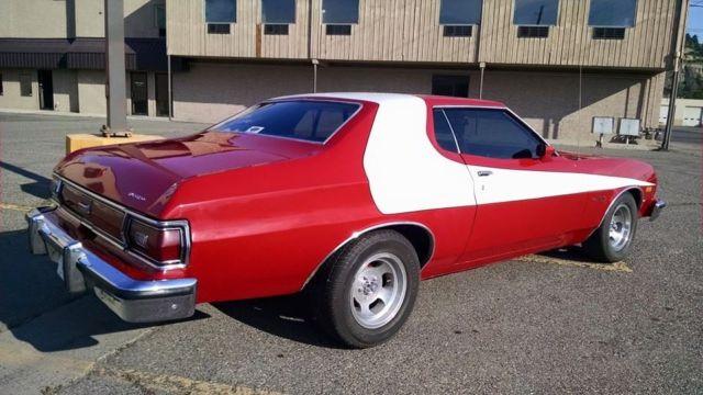 1975 75 Ford Gran Torino STARSKY & HUTCH paint. Bucket ...