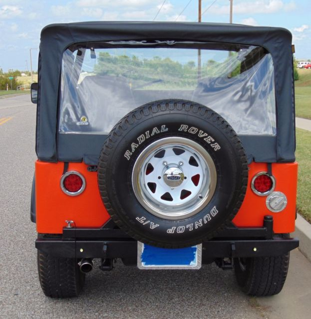 1975 AMC Jeep CJ-5 With 258ci I-6 4X4 3-speed Transmission