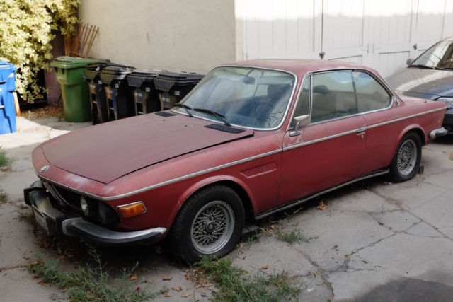 1975 Bmw 3 0 Cs E9 Coupe Auto Grey Market Euro Granatrot