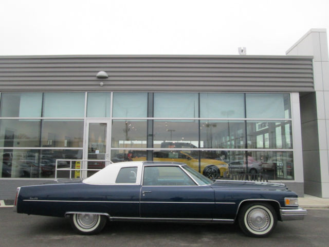 1975 Cadillac Coupe Deville Only 36162 Miles Price