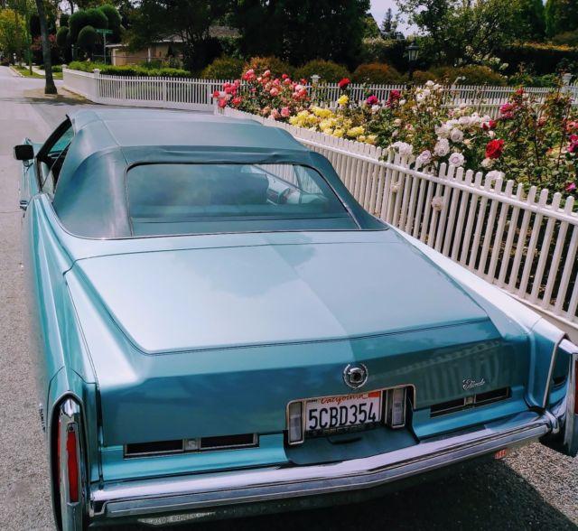 Cadillac 500 For Sale: 1975 Cadillac El Dorado Convertible Eldorado California