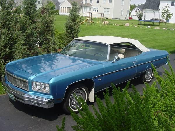 1975 Chevrolet Caprice Classic Convertible Original