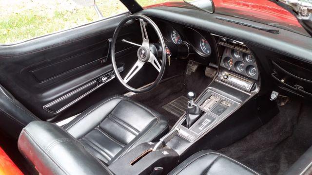 1975 Chevrolet Corvette Stingray Convertible 2 Door L 82 Classic Chevrolet Corvette 1975 For Sale