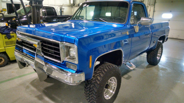 1975 chevy 4x4 four wheel drive c15 pickup truck scotsdale pro tour mud lifted classic. Black Bedroom Furniture Sets. Home Design Ideas