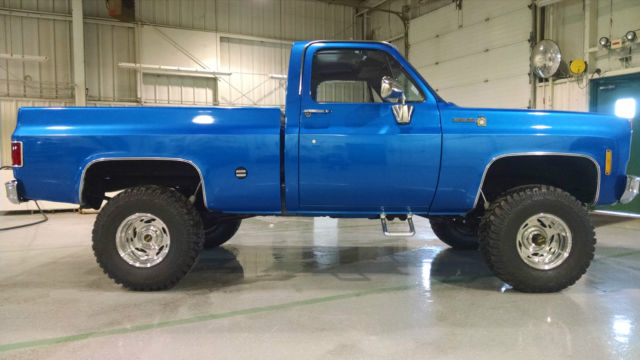 1975 Chevy 4X4 Four Wheel Drive C15 Pickup Truck Scotsdale ...